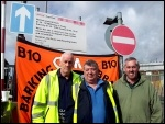 Barking and Dagenham bin workers on an 8 day strike 6-5-15, photo Pete Mason