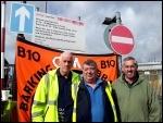 Barking and Dagenham bin workers on an 8 day strike 6-5-15, photo Pete Mason