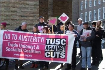 Bristol TUSC campaigners