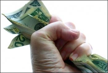 Greedy, grasping bosses, photo Liz West (Creative Commons)