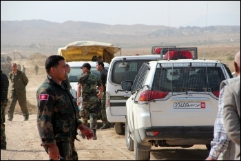 A Tunisian checkpoint, photo Magharebia (Creative Commons)