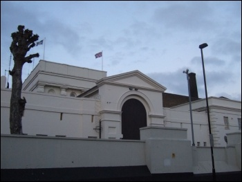 Pentonville prison - where five shop stewards were held in 1972, photo Ben Sutherland (Creative Commons)
