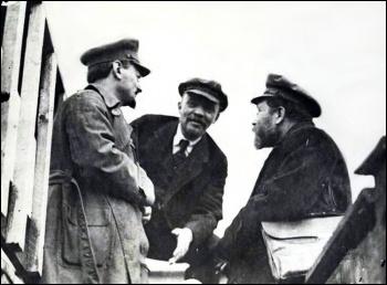 Vladimir Lenin Leon Trotsky Lev Kamenev Russian Revolution Recuerdos de Pandora (Creative Commons), photo Recuerdos de Pandora (Creative Commons)