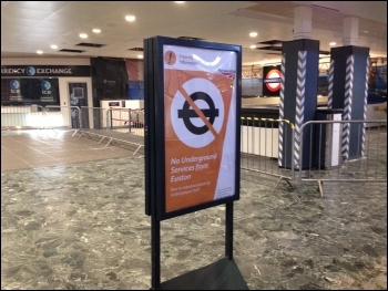 Euston station 9.7.15, photo by Paula Mitchell