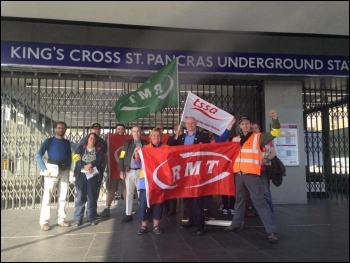 Kings Cross station, 9.7.15