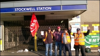 Stockwell station, 9.7.15, photo by James Ivens