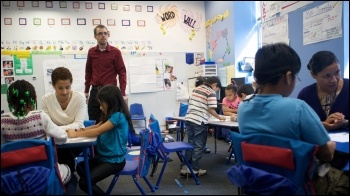 Primary school teacher, photo US Department of Education (Creative Commons)