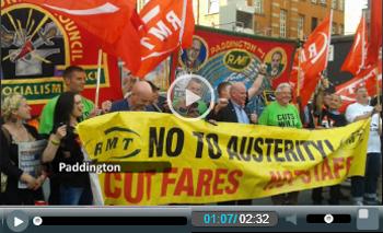 Tube Strike July 2015: tube workers speak