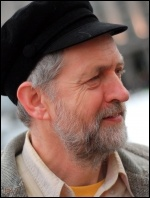 Jeremy Corbyn, photo David Hunt, Wikimedia Commons