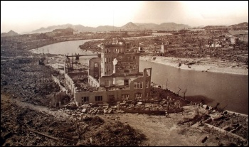 Hiroshima, Japan, 1945, after the atomic bomb, photo by Xiquinho Silva (Creative Commons)