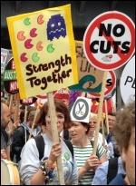 PA anti-austerity demo, 20.6.15, photo Judy Beishon