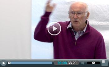Peter Taaffe speaking at Eastern region summer camp 2015