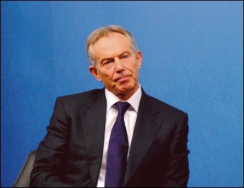 Millionaire warmonger Tony Blair is till trying to the rule the world, photo Chatham House (Creative Commons)