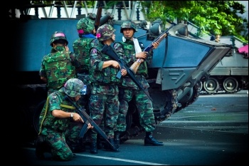 Thai soldiers, photo by Global Panorama (Creative Commons)