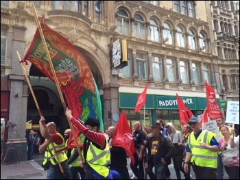 Cardiff bus strike, September 2015