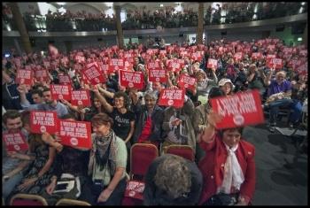 Corbyn for Leader rally in Islington, 10.9.15, photo Paul Mattsson