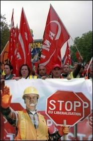 Brussels demo, 2010, photo Paul Mattsson