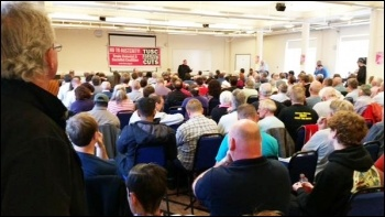 TUSC conference, 26.9.15 , photo by Martin Powell Davies