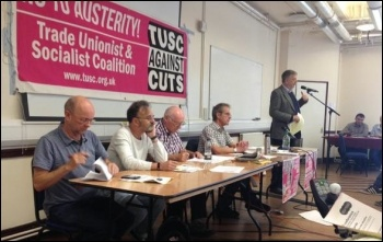 TUSC conference, 26.9.15, Dave Nellist speaking