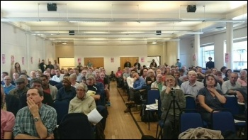 TUSC conference 2015 , photo Dave Nellist