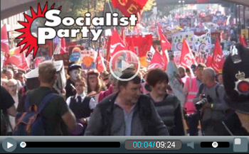 TUC demo Tory party conference 2015