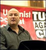 Bob Crow at TUSC event