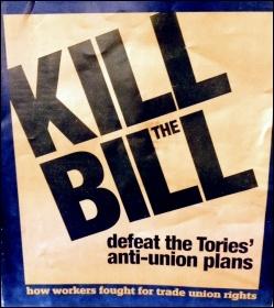 Kill the Bill poster