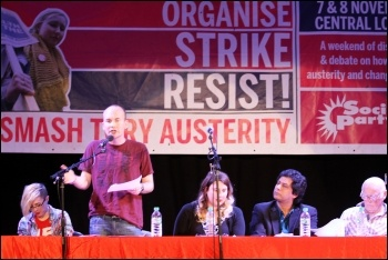 Socialism 2015 Saturday rally, Paul Murphy TD speaking