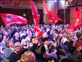 Socialism 2015 Saturday rally, photo Senan