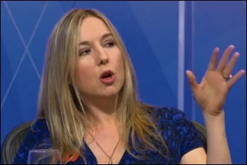 Victoria Coren Mitchell on BBC Question Time, 5.11.2015