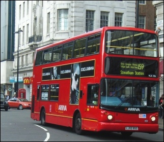 London bus, photo Graham Richardson (Creative Commons)