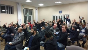 Tower Hamlets People's Budget meeting, Jan 2016 , photo by N Byron