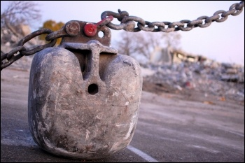 Wrecking ball, photo by bradleypjohnson (Flicker/Creative Commons)