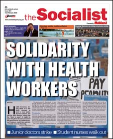 The Socialist issue 887