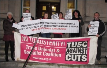 TUSC campaigning against cuts in Southampton