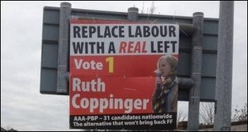 Ireland: election poster, Feb 2016