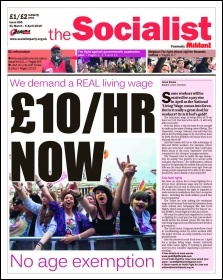 The Socialist issue 895