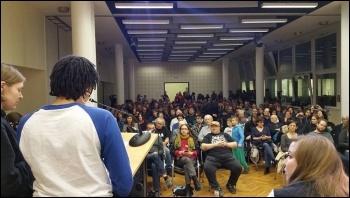Sozialistische Alternative's 'Socialism Days' in Germany, 2016, photo by Sozialistische Alternative (CWI Germany)