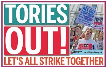 Tories out!, photo Sarah Wrack
