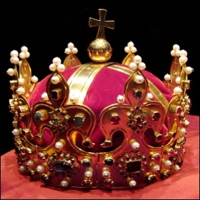 Crown of Bolesław I the Brave, Duke of Poland, photo by Gryffindor (Creative Commons)