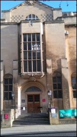Bristol Central Library - later in the day