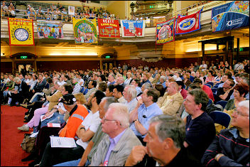 TUC rally in Westminster against cuts in public spending, photo Paul Mattsson