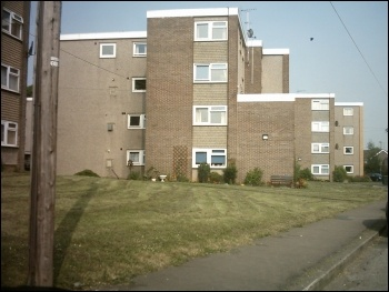 Council estate in Yorkshire, photo Wikimedia/Creative Commons