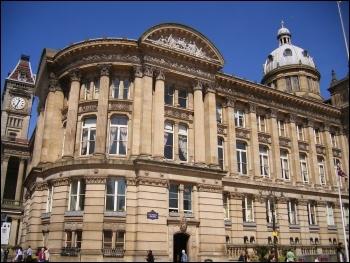 Birmingham Council, photo Elliott Brown (Creative Commons)