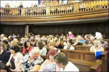 TAs meet in Durham, photo Elaine Brunskill