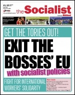 The Socialist issue 906 front page