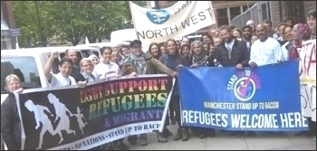 Manchester contingent on the convoy to Calais, 18.6.16