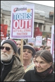 Tories Out!, photo Paul Mattsson