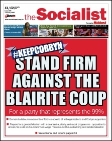 Stand firm against the Blairite coup