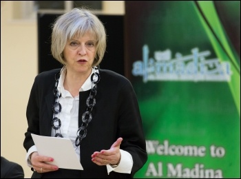Tory leader and Prime Minister Theresa May, photo Policy Exchange/Creative Commons